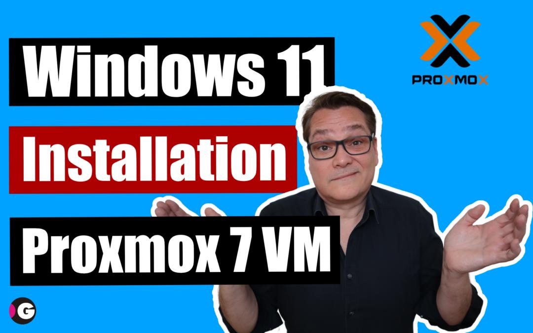 Windows 11 Insider Preview als VM unter Proxmox testen
